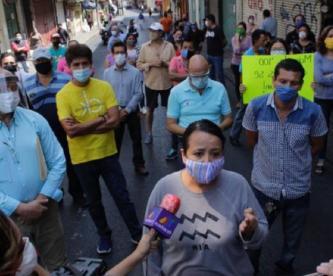 Comerciantes exigen reabrir sus locales, aseguran que están a punto de quebrar en Morelos