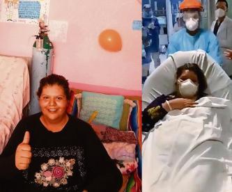 Doctora que fue intubada por Covid-19 con cuenta cómo lo vivió; su madre falleció