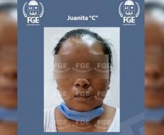 Mujer asesina a embarazada y le saca al bebé; intenta calcinarla en Quintana Roo