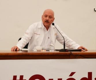 Secretario de Salud en Chiapas confunde el polvo del Sahara con una persona extranjera