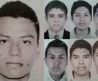 Christian Rodríguez Telumbre y los otros 42 jóvenes estudiantes de Ayotzinapa