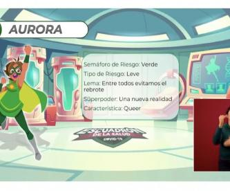 """El mensaje casi escondido de """"Aurora"""", la heroína verde contra el Covid-19 en México"""