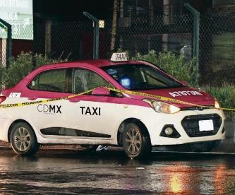 Mil maneras de morir presenta, su taxi lo asesina en Calzada de Tlalpan de la CDMX