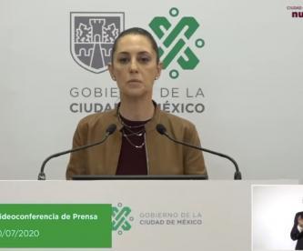 Sheinbaum anuncia semáforo rojo por colonias en CDMX, y apoyo económico a tianguistas
