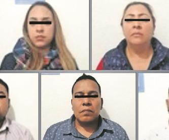 """Una agente del Ministerio Público y tres """"madrinas"""" fueron acusados de secuestro en el Edomex"""
