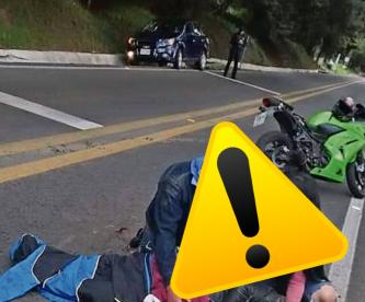 Motociclistas veloces mueren en carreteras que conectan la CDMX con Morelos