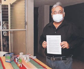 Hombre con hipertensión, diabetes y sobrepeso sobrevive al Covid-19 y crea un manual
