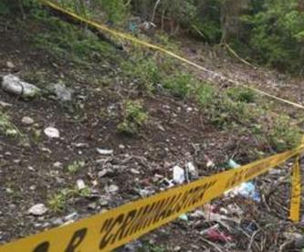 Trabajadores se topan con un cadáver totalmente calcinado, en Morelos