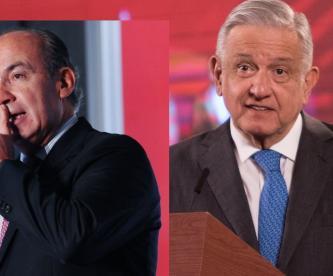 """Afirma AMLO que Felipe Calderón """"nos robó la presidencia"""" pero que ya lo perdonó"""