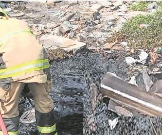 Bomberos descubren cadáver de pepenador tras sofocar un incendio en Nezahualcóyotl