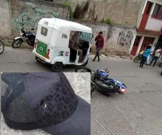 Pipa destroza medio cuerpo de mujer motociclista en Ecatepec, no sobrevivió