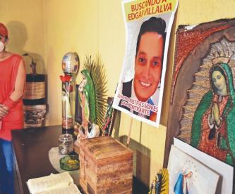 Familiares de Edgar Villalva exigen justicia, tras localizar su cadáver en el Edomex