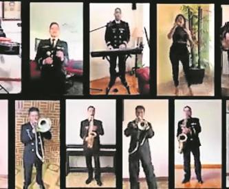 Elementos de la Secretaría de Marina estrenan canción de apoyo a médicos por Covid-19