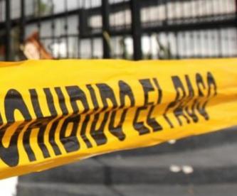 Muere hombre baleado en su casa en Edomex, luego de convivir con sus supuestos amigos