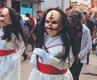 Arman caminata de terror en el Edomex, pese a cancelación de festividades