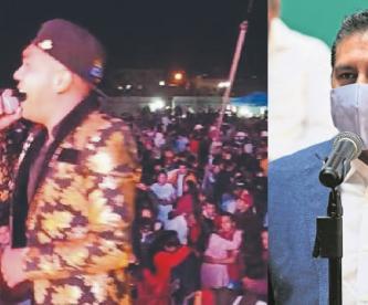 Autoridades en Edomex advierten que sancionarán a involucrados en fiesta grupera masiva