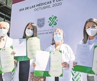 Sector Salud reporta 52 muertes en sus filas por Covid-19, en CDMX