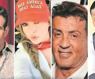 Rumbo a las elecciones de Estados Unidos, éstas son las celebridades que apoyan a Trump