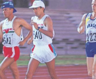 Estos fueron los triunfos como deportista de Ernesto Canto, ganó dos títulos olímpicos