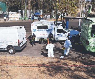Muere de manera repentina tras ser prensado por un camión en Xochimilco