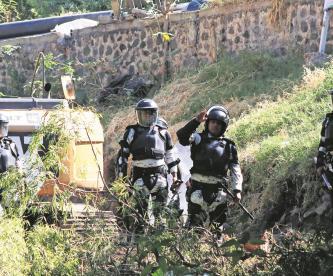 Guardia Nacional desaloja a pobladores que rechazan la termoeléctrica en Morelos