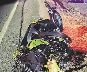 Motociclista es embestido por tractocamión en la México-Querétaro, es el cuarto en este mes