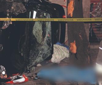 Jóvenes mueren de manera brutal tras registrarse accidente vial en Azcapotzalco