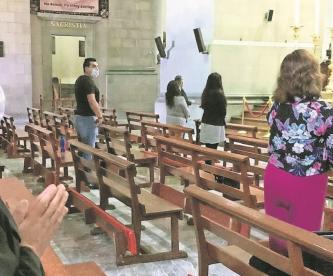 Arquidiócesis en Edomex suspende misas por aumento de casos de Covid, pone fecha límite