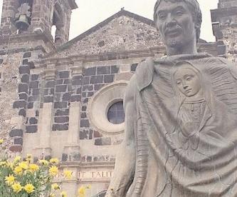 Por Pandemia, autoridades cierran casa de Juan Diego y santuario de la Virgen en Cuautitlán