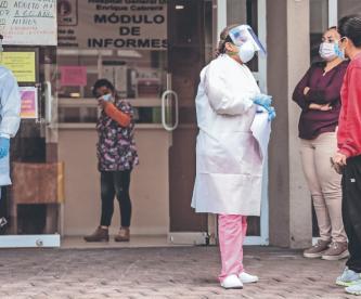 Valle de México rebasa límite de hospitalizaciones por Covid para regresar a semáforo rojo