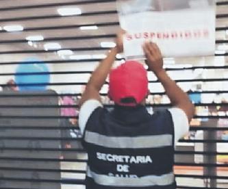 Suspenden negocios en Toluca por no respetar el rojo del semáforo epidemiológico
