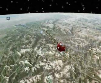 Así se ve Santa Claus EN VIVO en su recorrido por el mundo; es inmune a Covid, dijo la OMS