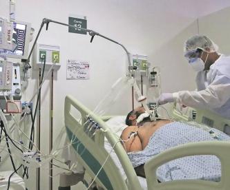 Edomex continuará en semáforo rojo por máximo histórico de pacientes intubados por Covid