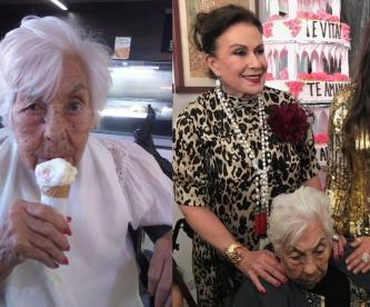 Laura Zapata revela aterradora foto de su abuelita en el asilo y pide cárcel a responsable