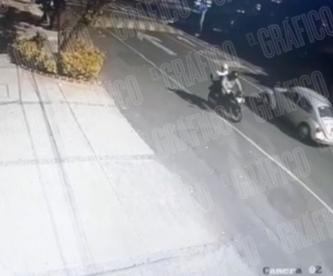 Video capta a sicarios de empresario y su escolta, desataron balacera en colonia Nápoles