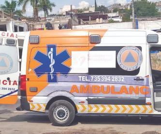 Ambulancias sufren por traslado de pacientes Covid en Morelos, no hay lugar en hospitales