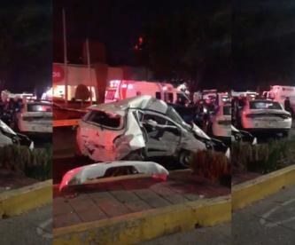 Acelera en semáforo rojo y termina muerto en la alcaldía Benito Juárez