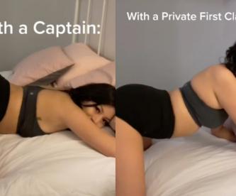 Tiktoker le dedica contenido erótico a militares, tras mala experiencia con uno de ellos