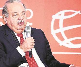 Hijo de Carlos Slim reporta que su padre evoluciona favorablemente de Covid-19