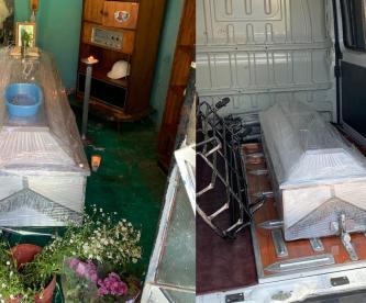 Muere por Covid, autoridades violan los protocolos y familia guarda ataúd 3 días, CDMX