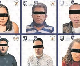 """Detienen a hija de """"El Ojos"""" junto con otras seis personas del Cártel de Tláhuac"""