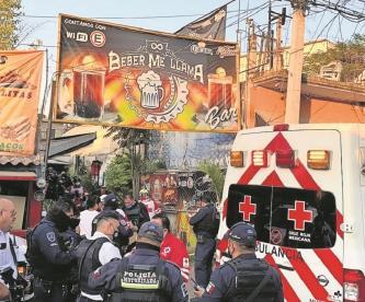 Sujeto ingresa a bar en Morelos, saca arma de fuego y dispara contra tres personas