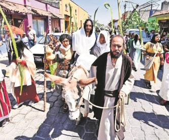 Celebraciones de Semana Santa serán sin Viacrucis y con aforo limitado en el Edomex