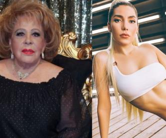 Silvia Pinal revela de qué lado está ante caso de Frida Sofía y Enrique Guzmán