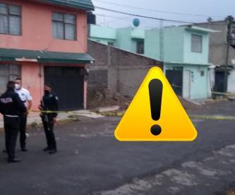 """Matan a hombre en Ecatepec y su esposa le reclama al cadáver: """"te lo dije, te lo dije"""""""
