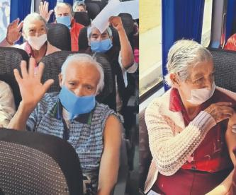 Asilo en Toluca con 37 abuelitos se mantiene libre de Covid, pues no han salido en un año