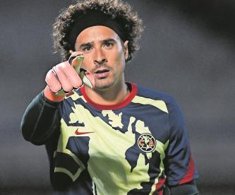 Aunque América llega con jugadores heridos, Memo Ochoa piensa que frenarán al Cruz Azul