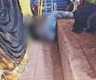 Vengador anónimo corretea y mata a presunto asaltante en Central de Abasto del Edomex
