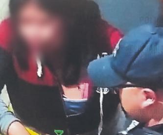 Autoridades intervienen en golpiza que un sujeto le propinaba a su pareja, en Edomex