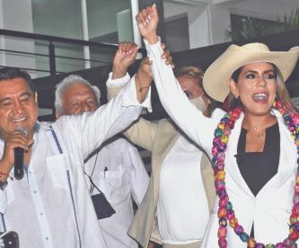 Oficialmente, hija de Félix Salgado Macedonio será la candidata en Guerrero